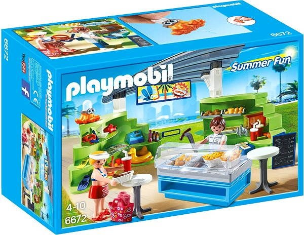 Playmobil 6672 Splish Splash Café - Building Kit