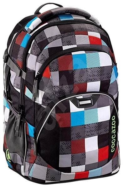 CoocaZoo JobJobber Checkmate Blue Red - School Backpack
