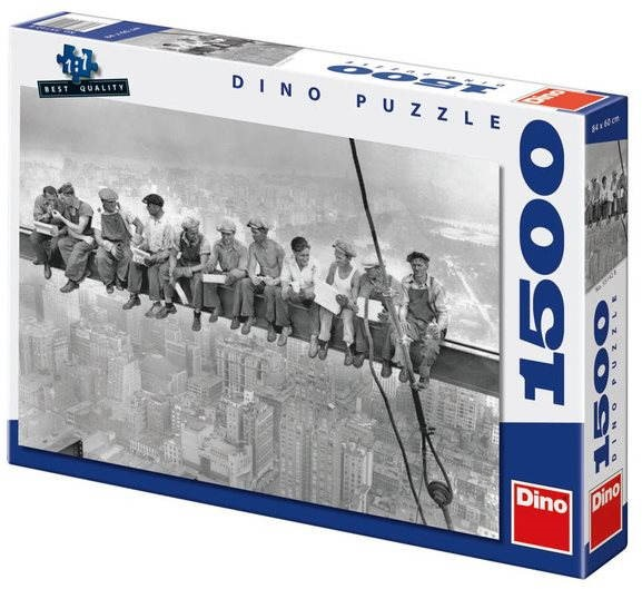 Dino Workers on a Crossbeam - Puzzle