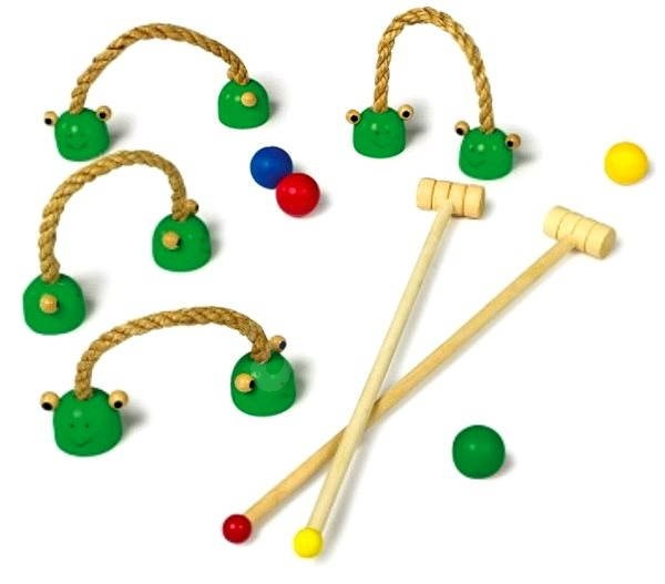 Baby croquet at home - Game