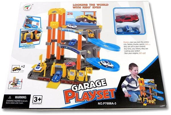Garage and two cars - Game set