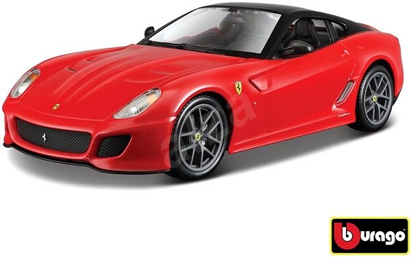 Bburago Ferrari 599 GTO Red - Model