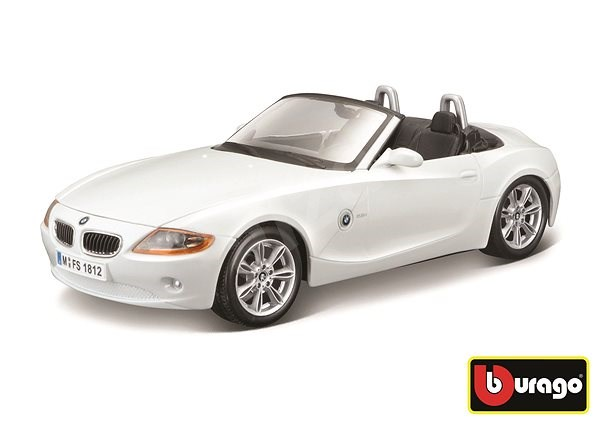 Bburago BMW Z4 White - Model