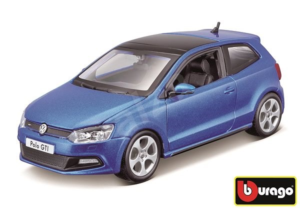 Bburago VW Polo GTI Mark 5 Red - Model