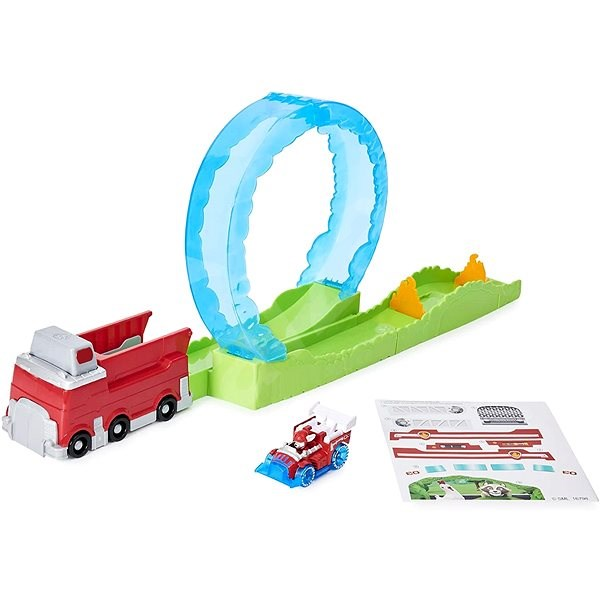 Paw Patrol Fire Track for toy cars - Game Set