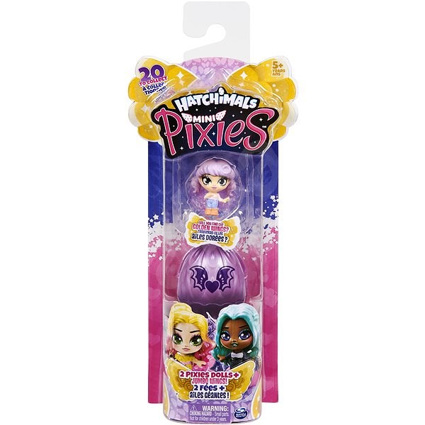 Hatchimals Mini Pixies Dolls In An Egg 2pcs - Figures