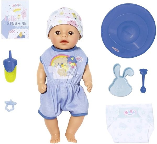 BABY born Soft Touch Little, boy, 36 cm - online packaging - Doll