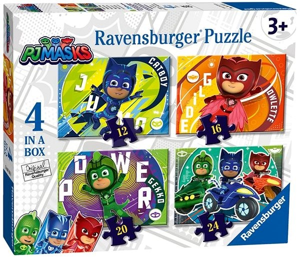 Ravensburger 050581 Pyjamas 4 in 1 - Puzzle
