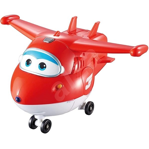 Super Wings - Transforming and Talking - Jett - Plane