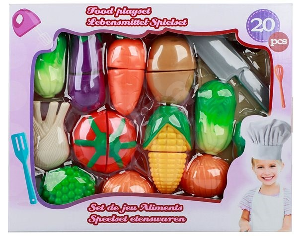 Cutting vegetables with accessories - Game Set