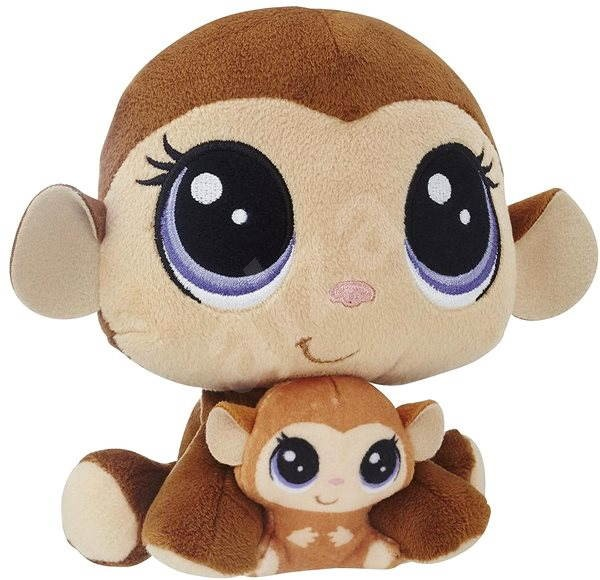 Littlest Pet Shop Duo Monkeys - Plush Toy