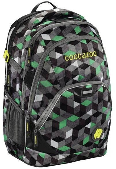 Coocazoo EvverClevver 2 Crazy Cubes Green - School Backpack