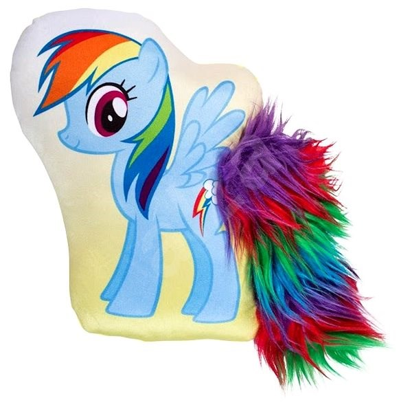 My Little Pony 3D Rainbow Cushion - Children's bedroom decoration
