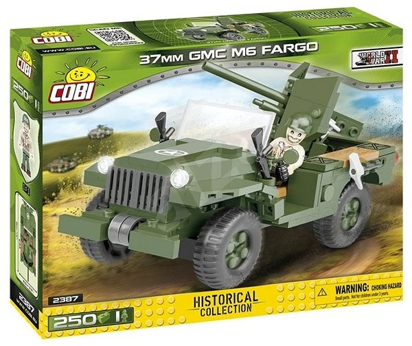 Cobi 2387 37mm GMC M6 Fargo - Building Kit