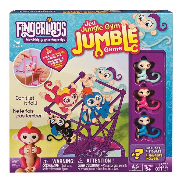 Fingerlings Monkey Playing in the Gym - Board Game