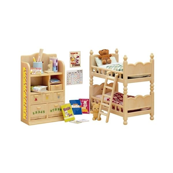 Sylvanian Families Furniture - Children's Room - Game set