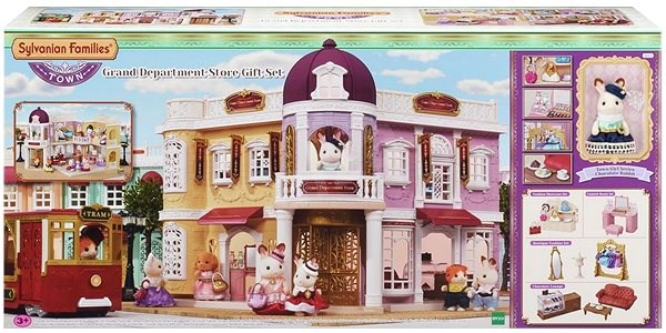 Sylvanian Families Town Great Department Store Gift Set - Game set