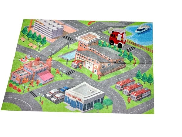 Playing pad firefighters - Game set