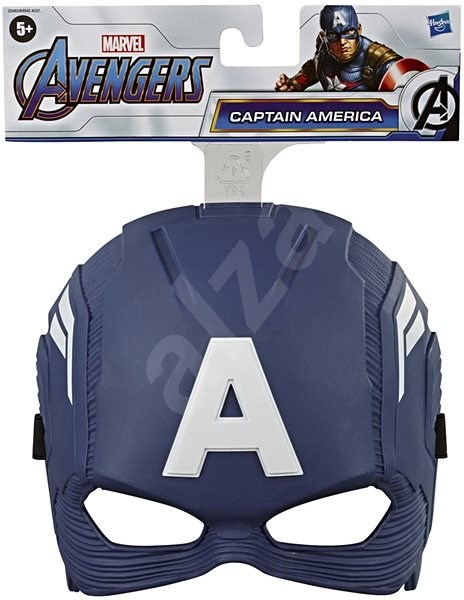 Avengers Mask Captain America - Costume Accessory