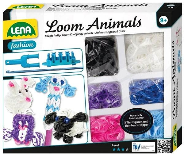 Lena Rubber Bracelets - Animals - Creative Kit