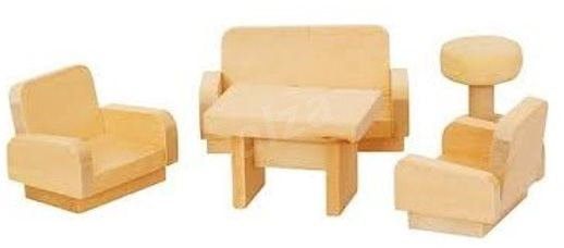 Wooden Living Room - Building Kit