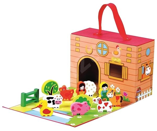 Farm in Travel Case - Educational toy