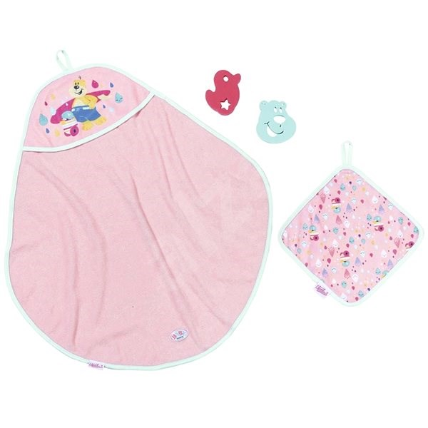 BABY born Set with Towel - Doll Accessory