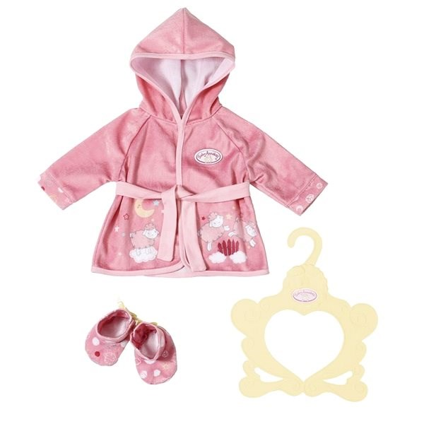 Baby Annabell Bathrobe and Slippers Sweet Dreams - Doll Accessory