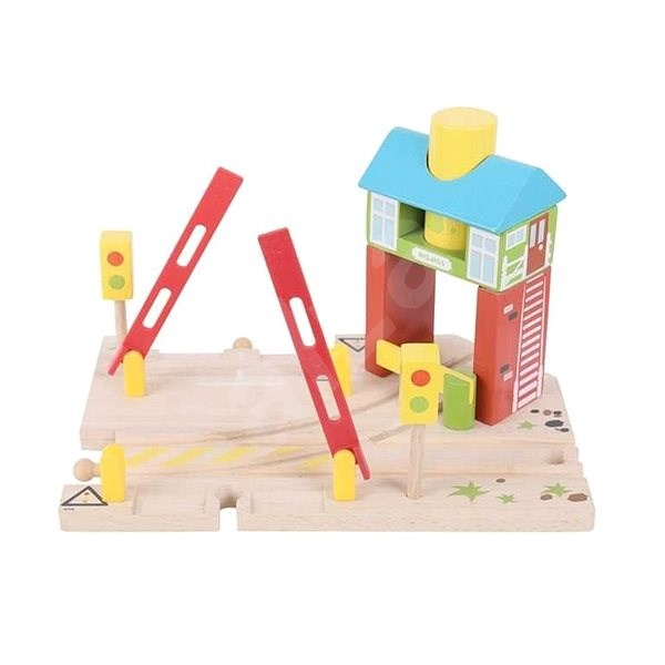 Bigjigs Rail Signals - Rail set accessory