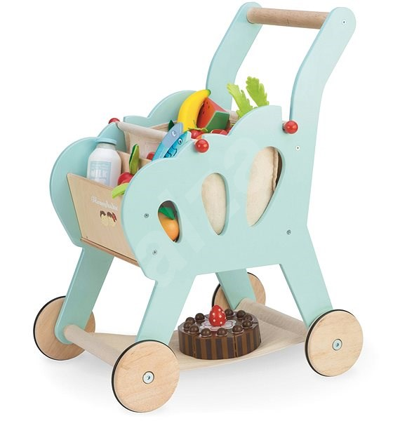 Le Toy Van Shopping Cart with Accessories - Building Kit