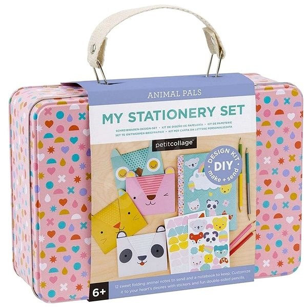 Petitcollage Creative briefcase with greeting cards - Creative Kit