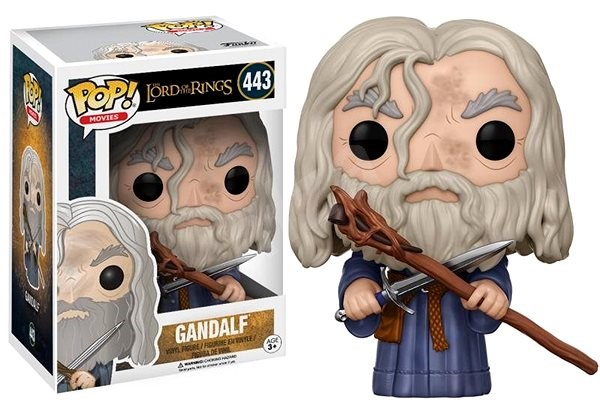 Funko Pop Movies: LOTR/Hobbit - Gandalf - Figurine