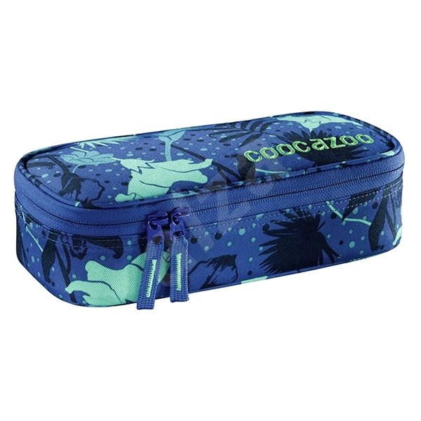 CoocaZoo PencilDenzel Tropical Blue - Pencil Case