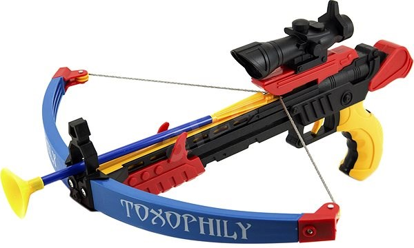Crossbow + Arrows + Target - Outdoor Game