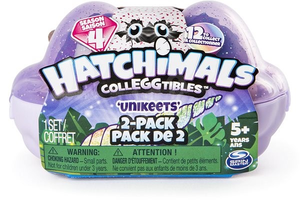 Hatchimals S4 Animals, 2pcs - Figures