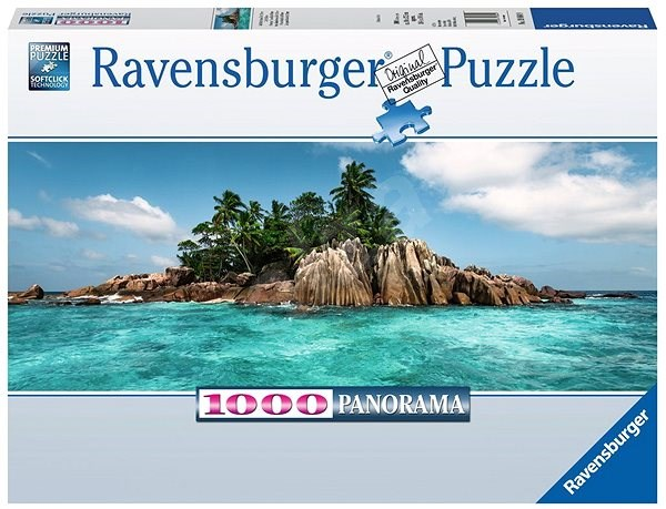 Ravensburger 198849 Private Island in St. Pierre Panorama - Puzzle