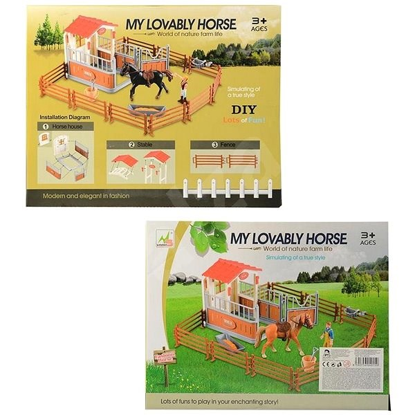 Horse Racing Center - Doll Accessory