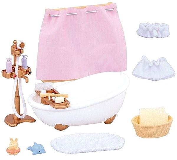 Sylvanian Families Bath & Shower Set - Game set