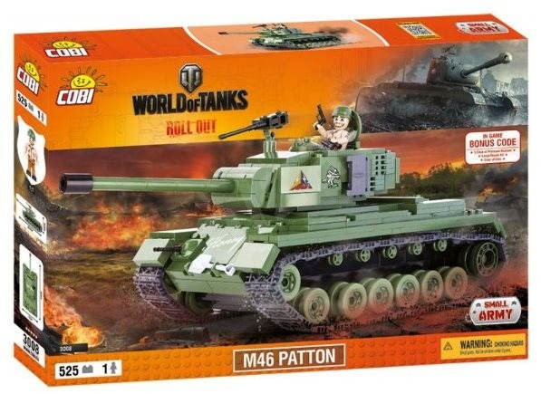 Cobi World of Tanks M46 Patton - Building Kit