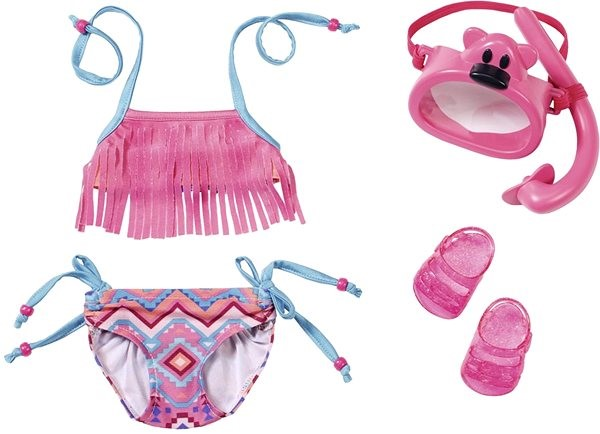 BABY Born Deluxe Swimming Set - Doll Accessory