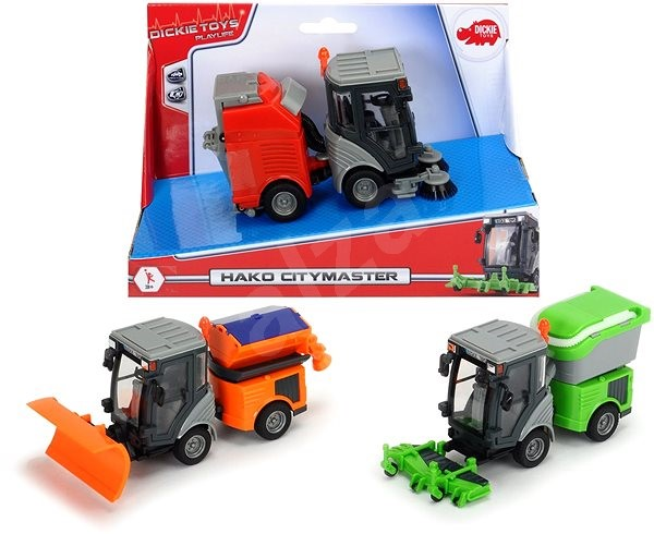 Dickie City Master - Toy Vehicle