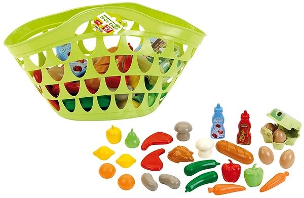Ecoiffier Shopping bag with food - Children's Kitchen Set
