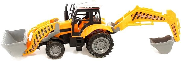 Large Construction Tractor - Toy Vehicle