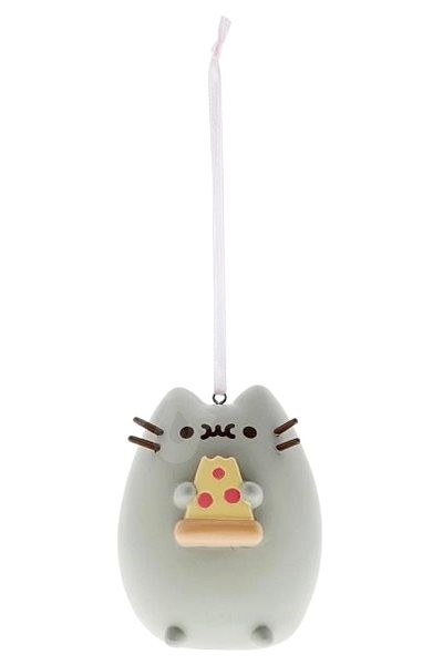 Pusheen I love Pizza ornament - Figurine