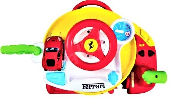 Ferrari with steering wheel - RC Remote Control Car