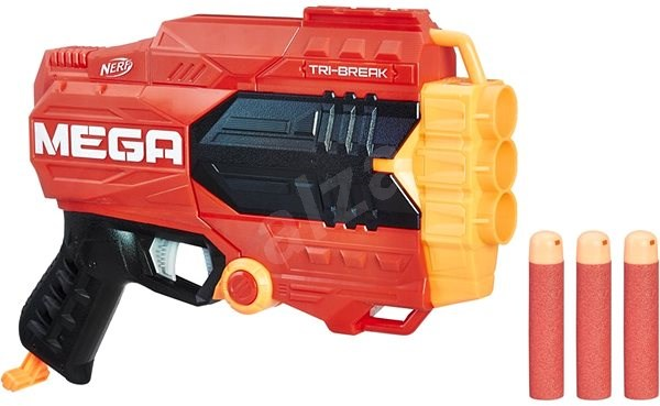 Nerf Mega Tri Break - Toy Gun