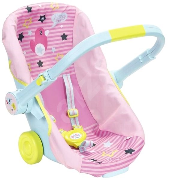 BABY Born Portable seat on wheels - Doll Accessory