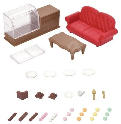 Sylvanian Families Town - Chocolate Lounge - Game Set