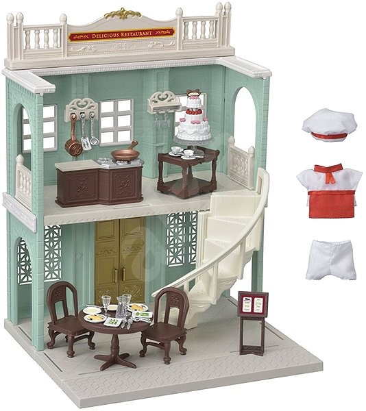 Sylvanian Families Town - Delicious Restaurant - Play set
