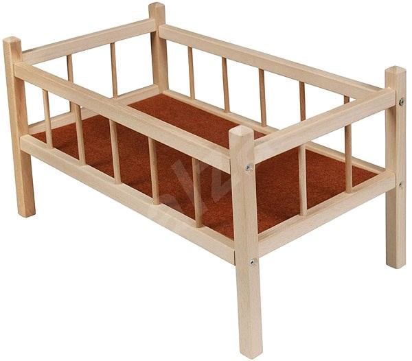Wooden bed - Doll Furniture